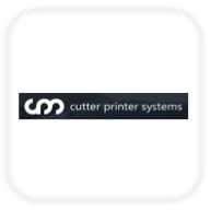 Cutter printer systems