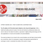 Press Release First exhibitors confirmation