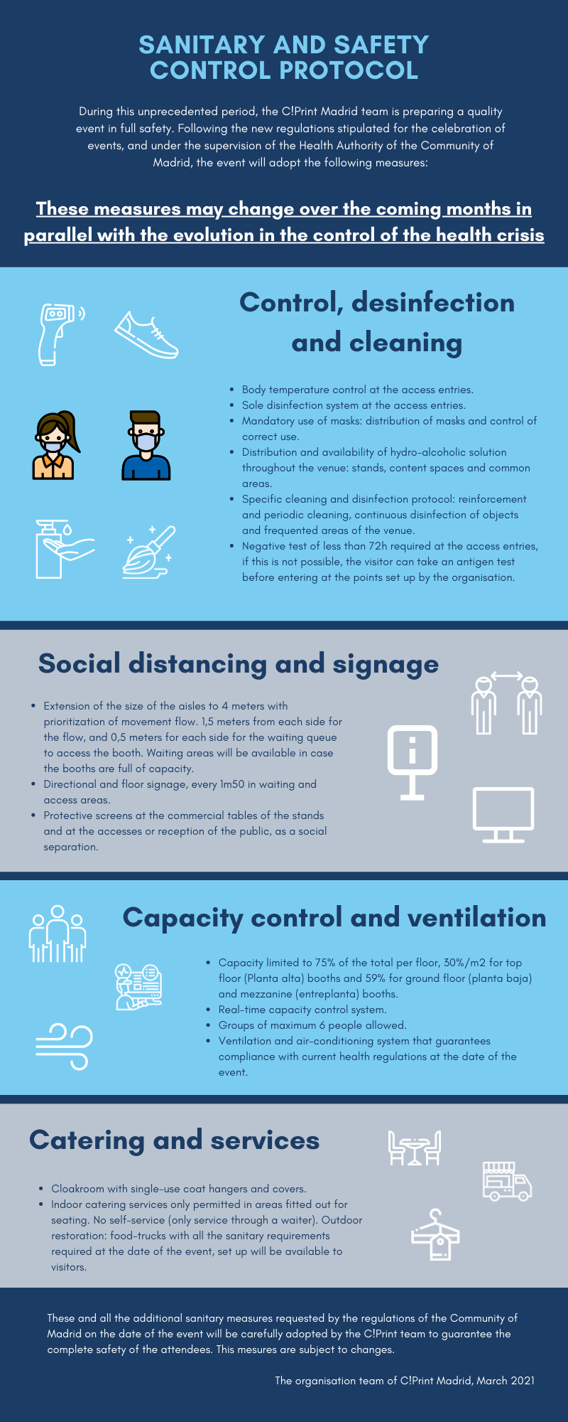 SANITARY AND SAFETY CONTROL PROTOCOL